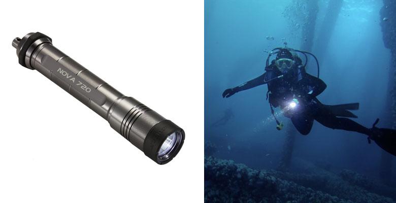 ScubaPro NOVALIGHT 720 Dive Light