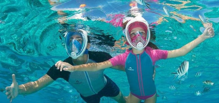 Tribord Easybreath Full Face Snorkel Review