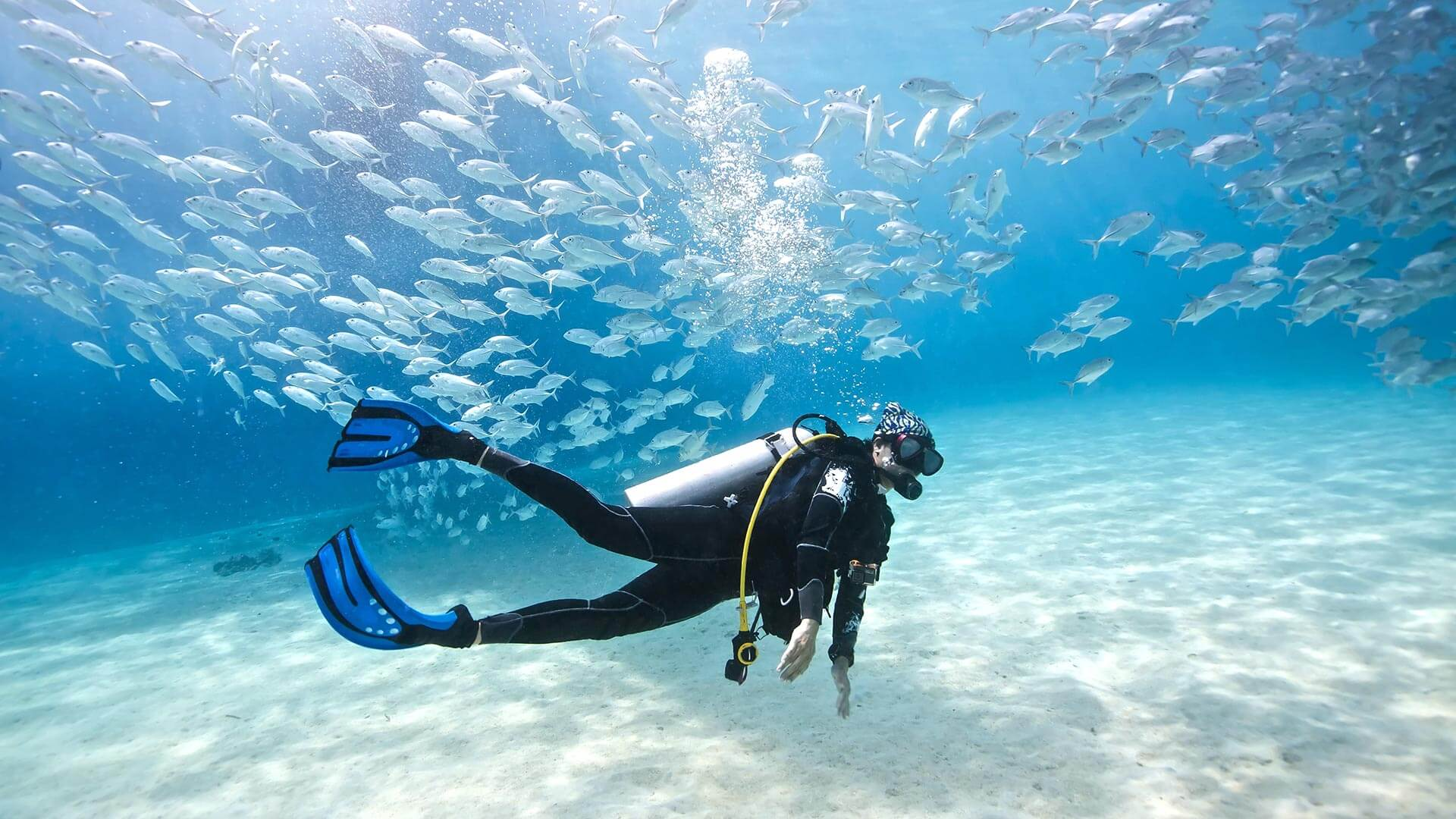 Swimming: A Somewhat-Mandatory Movement for Scuba Diving
