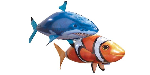Air Swimmer Shark or Clownfish