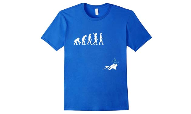 Evolution Scuba T-Shirt