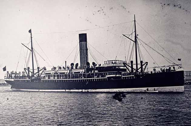 The SS Yongala