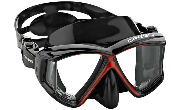 Cressi Panoramic Scuba Mask