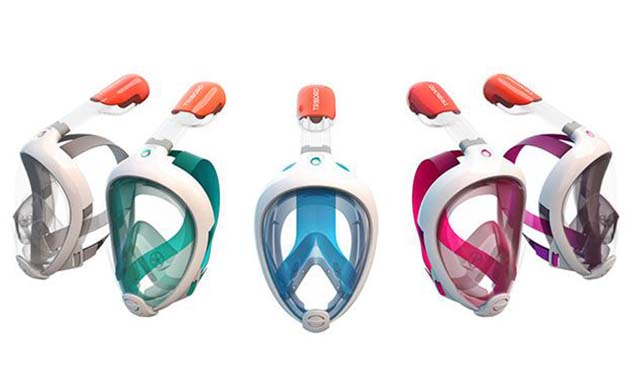 Full Face Snorkel Masks