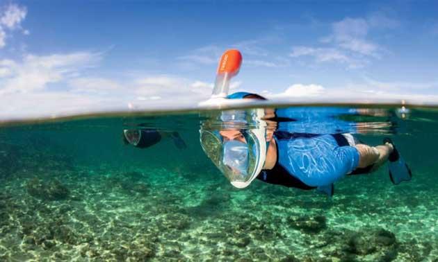 Surface Snorkeling