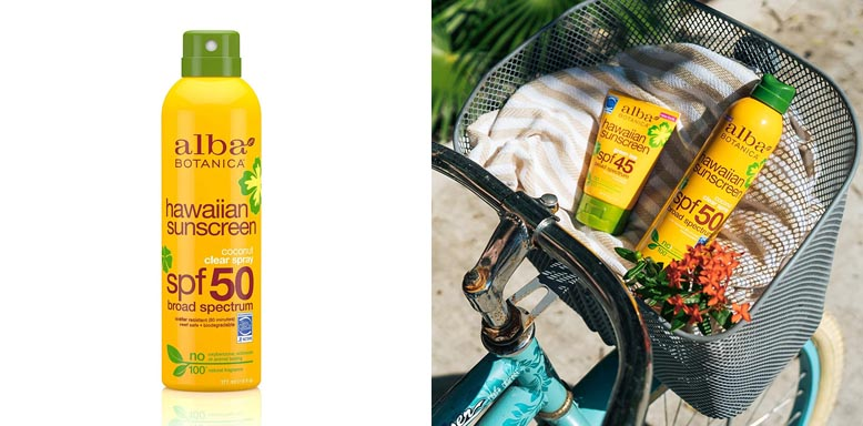 Alba Botanica Sunscreen Spray with Coconut Oil