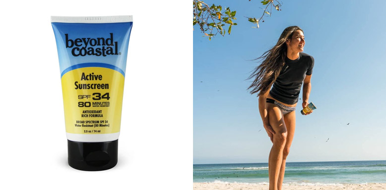 Beyond Coastal Active SPF 34 Ocean Safe Sunscreen