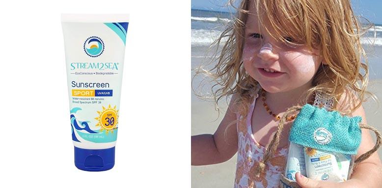 Stream2Sea Reef Safe Sport Sunscreen
