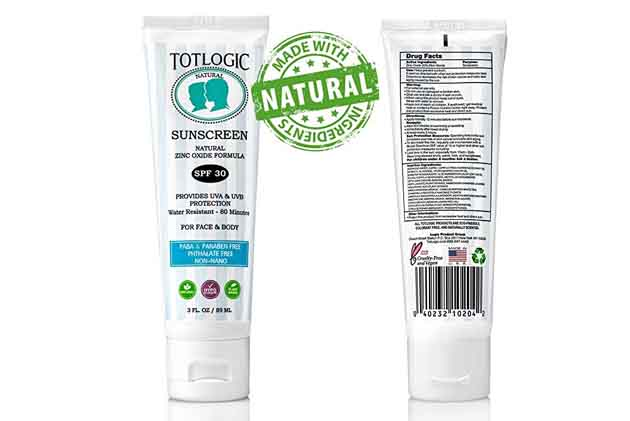 Totlogic Sunscreen