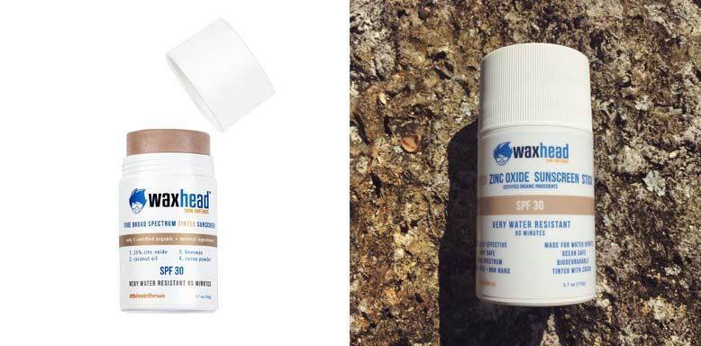 Waxhead Zinc Oxide Tinted Facial Sunscreen Stick