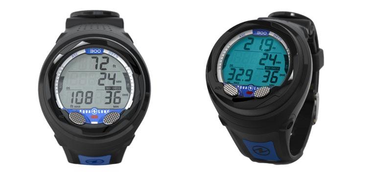 Aqua Lung i300 Wrist Black