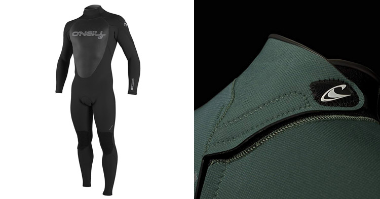 ONeill Mens Epic 4 3mm Back Zip Full Wetsuit