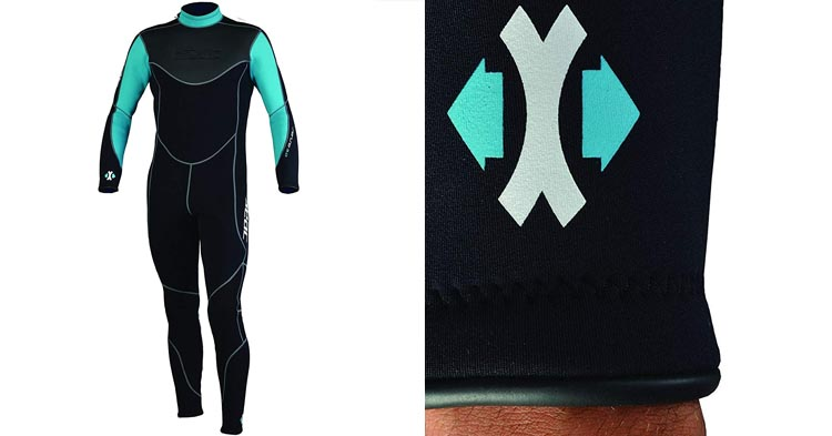 Seac Sense 3mm High Stretch Comfortable Neoprene Full Wetsuit