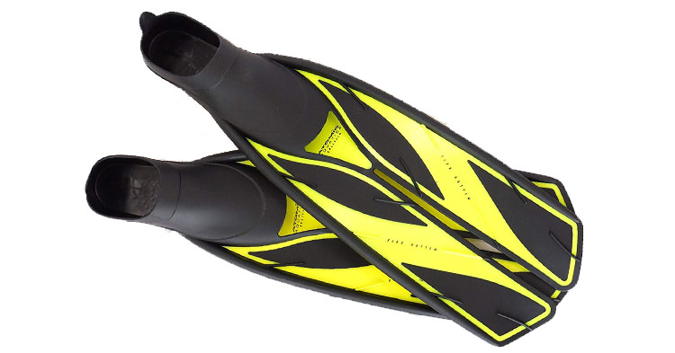 ATOMIC FULL FOOT SPLIT FINS HIGH ENERGY COMPOUND SCUBA DIVING Fins