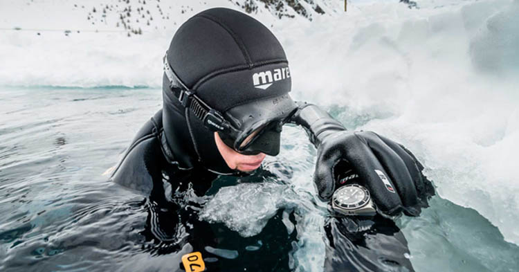 Ice Diving in a Drysuit