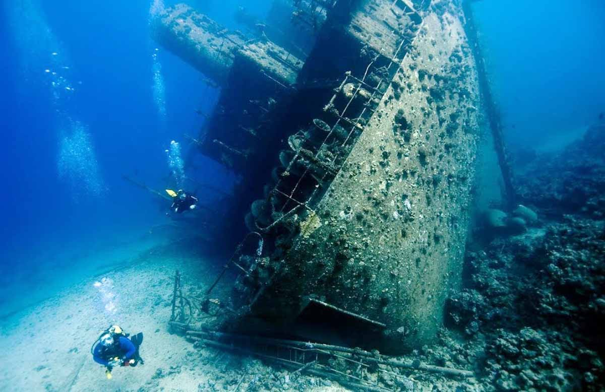 Thistlegorm Wreck Dive, Egyptian Red Sea