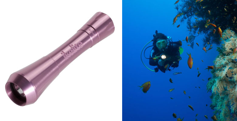 Ikelite Gamma II Waterproof Dive Light
