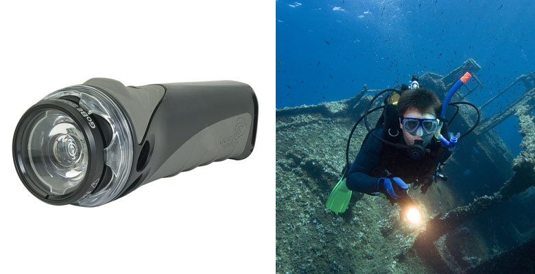 Light & Motion GoBe 500 Search Dive Light