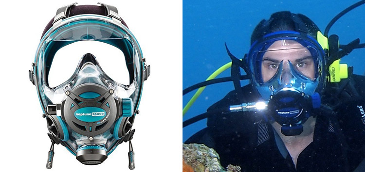 Ocean Reef Neptune GDivers Space Full Face Diving Mask