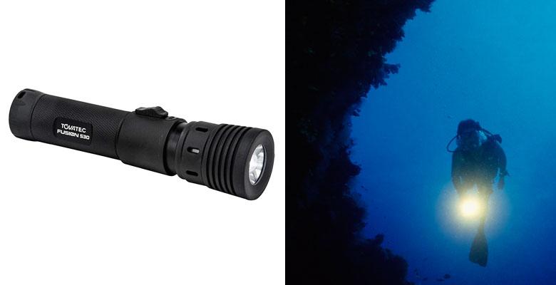 Tovatec Fusion 530 Video Dive Light