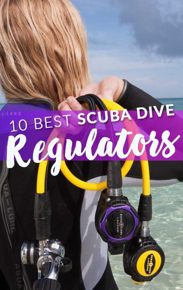 10 Best Dive Regulators Side Banner