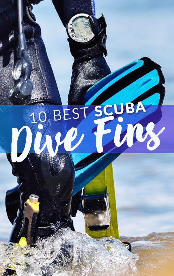 10 Best Dive Scuba Fins Banner