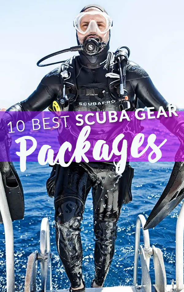 10 Best Scuba Gear Packages Banner