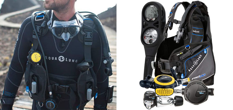 Aqua Lung Pro HD Dive Package