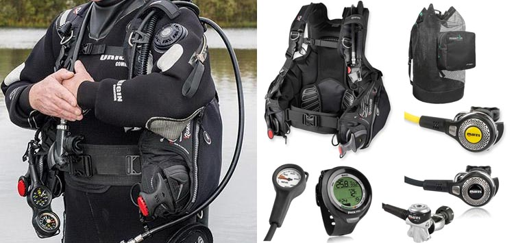 Mares Quantum Dive Gear Package