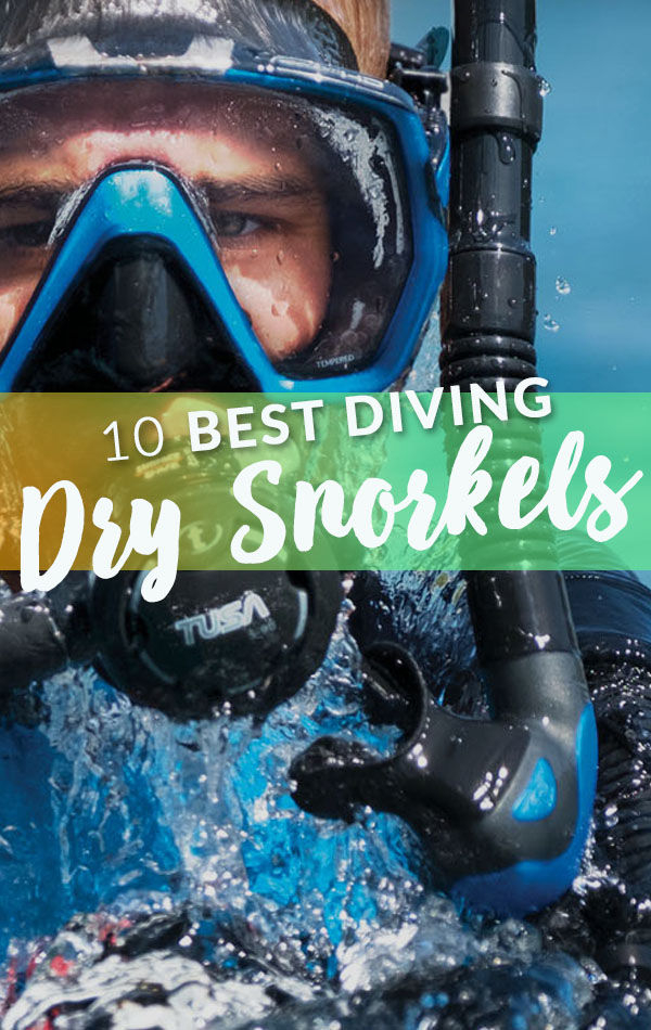 10 Best Diving Dry Snorkels Side Banner