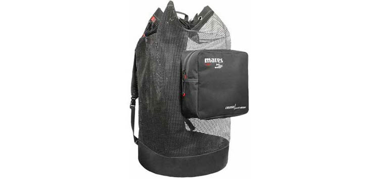 Mares New Deluxe Cruise Mesh Backpack Dive Bag