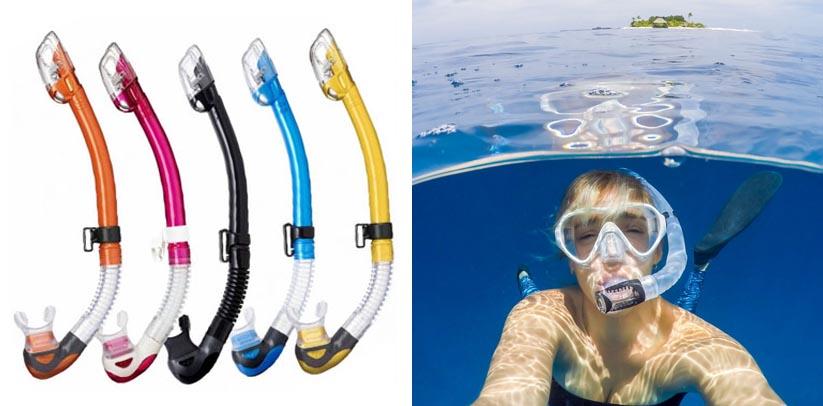 TUSA SP-170 Platina Hyperdry II Scuba Diving Snorkel