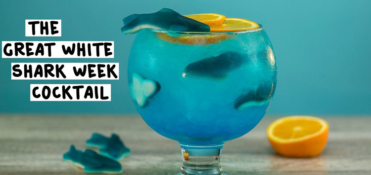 The Great White Shark Week Cocktail