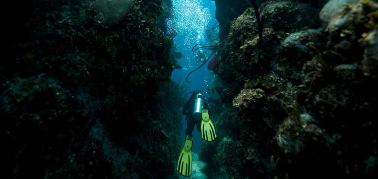 Cave Diving Blue Hole Belize