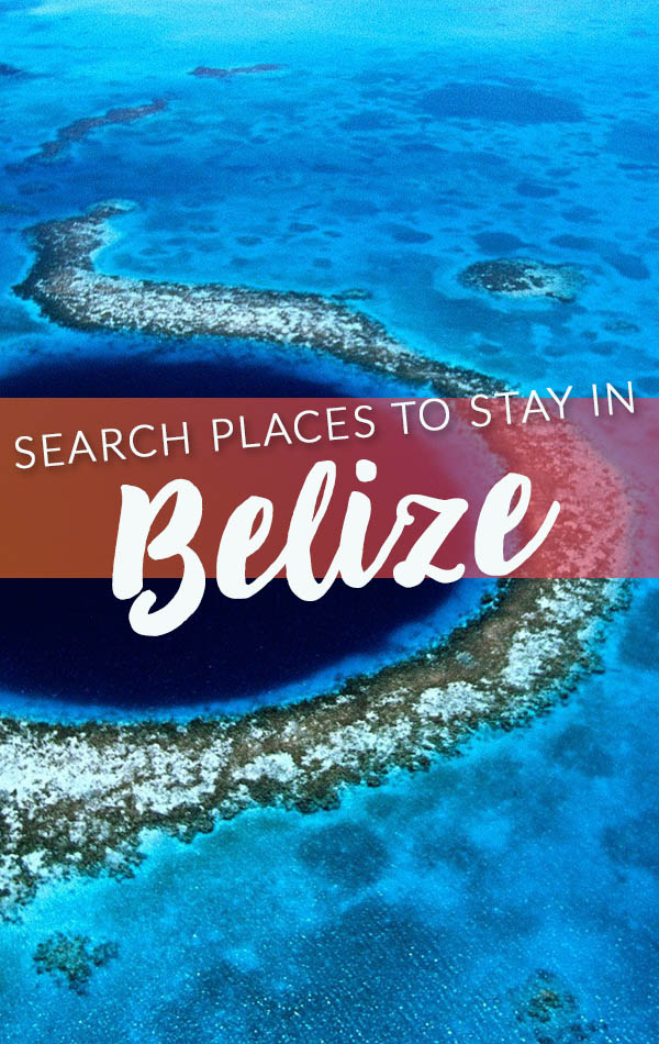 Search Places to Stay in Belize