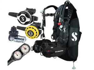 Taking All Your Diving Gear
