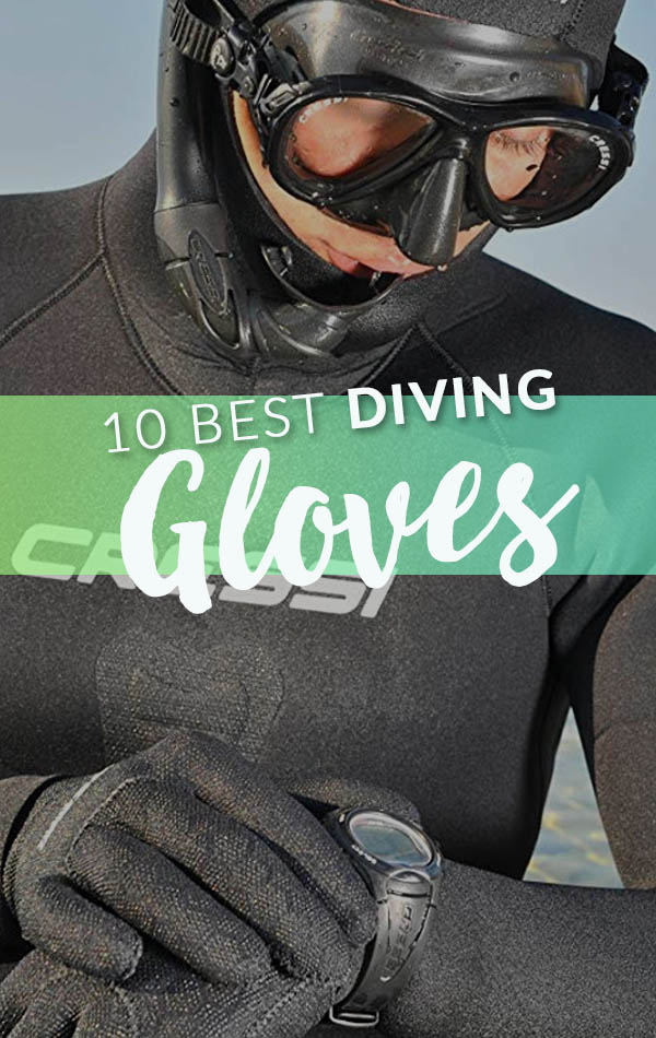 10 Best Diving Gloves Side Banner
