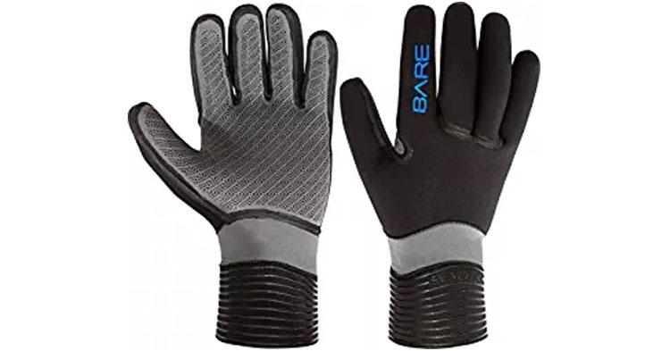 Bare Unisex Sealtek 5mm Diving Gloves