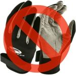 Diving Gloves Banned