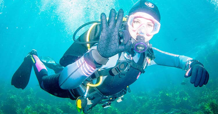 Style of Diving Gloves