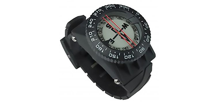 DGX Compass w Hose Mount and Wrist Strap