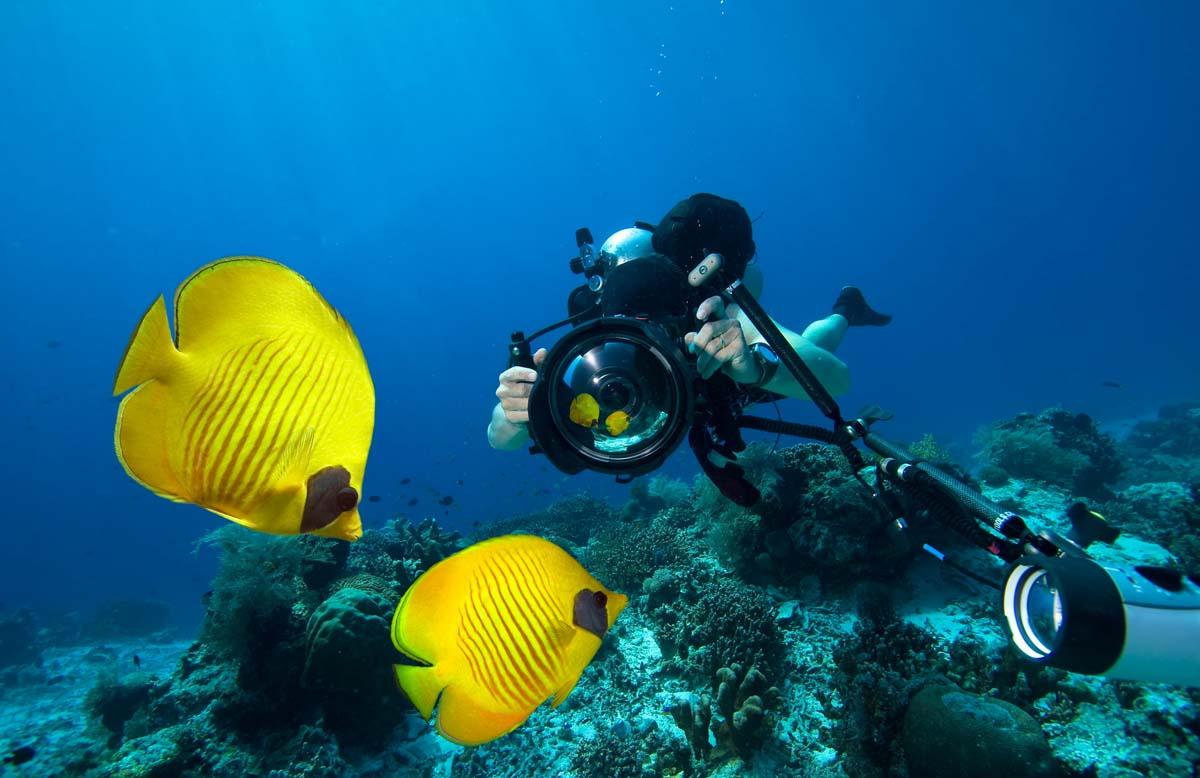Diving cameras for Scuba