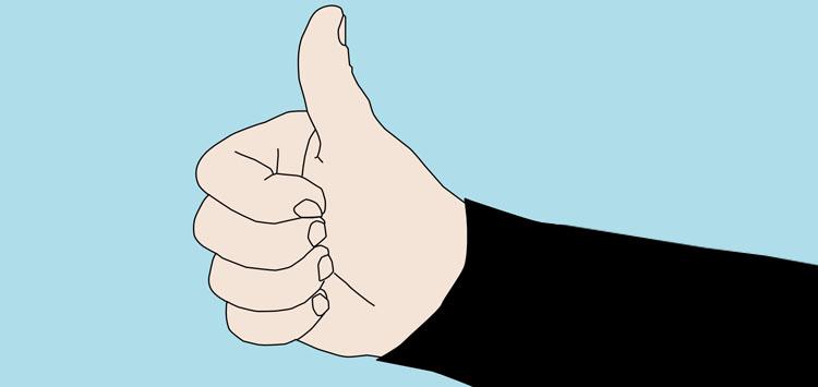 Scuba Hand Signals Ascend