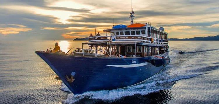Ambai Liveaboard Scuba Diving Indonesia