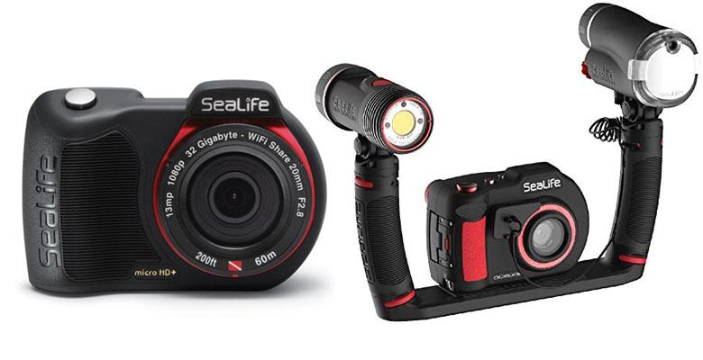 SeaLife Micro HD+ 32GB underwater camera