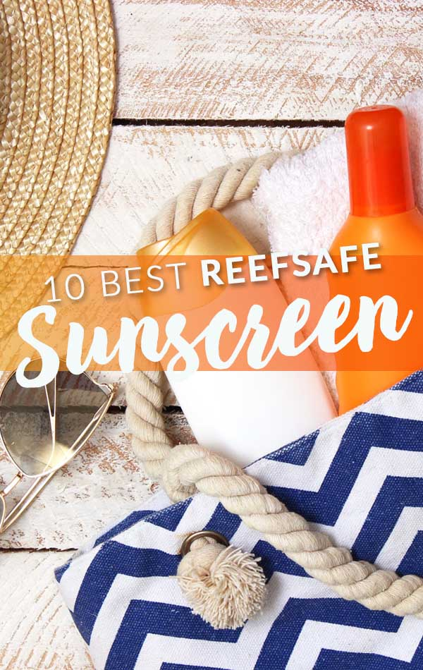 Best Reefsafe Sunscreen Side Bar Banner