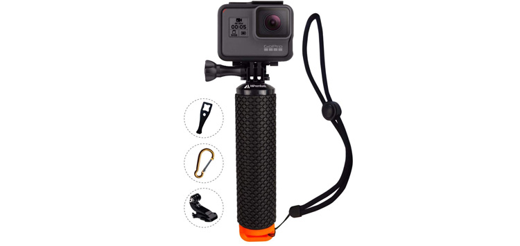 Waterproof Floating Hand Grip Compatible with GoPro