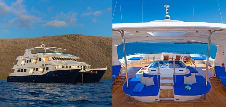 Cormorant Cruise Ship, Galapagos Liveaboard