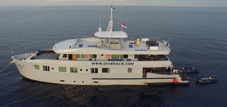 DiveRACE Class E, Thailand Liveaboard Similan