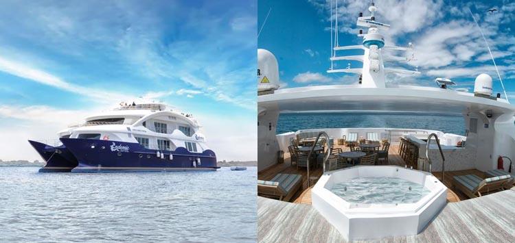 Endemic Cruise Ship, Galapagos Liveaboard
